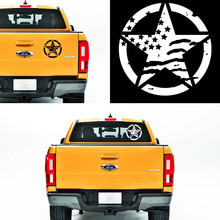 free shipping 1PC Band of Brothers USA flag vinyl graphics decals car sticker for pickup window  tail gate