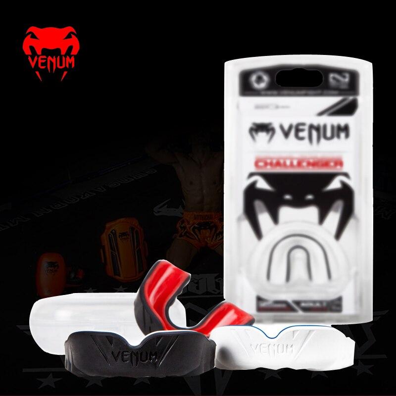 2a39f6ec5 Ko boxe Venum veneno Autorizado Challenger Protetor Bucal Boxe Com Capuz  Dental Protetor Sanda Jogo Profissional em Artes marciais de Sports ...