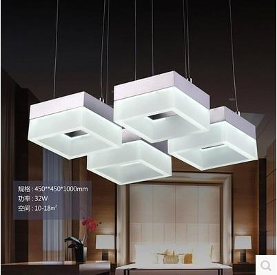 2014 Creative modern minimalist chandelier pendant three bedroom lamp LED light bar room 16w-21w - Shenzhen Yaou Lighting Co.,Ltd store