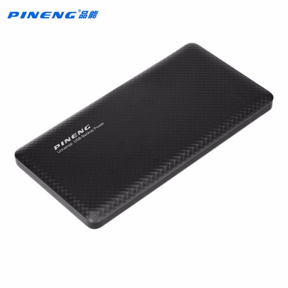 imágenes para PINENG 100% PN-958 10000 MAH Dual USB Power Bank Cargador de Batería Rápido Soporte Móvil Banco de la Energía del Li-polímero de carga
