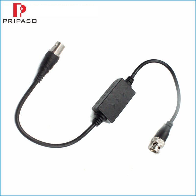 HD Video Ground Loop Isolator For HDTVI CVI AHD 720P/1080P 800V Single Channel HD Ground Loop Isolation Resistance 100M Omhs