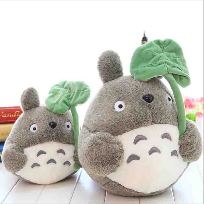 Cute Plush Toy My Neighbor Totoro Plush Toy with lotus leaf for Childrens Best gift