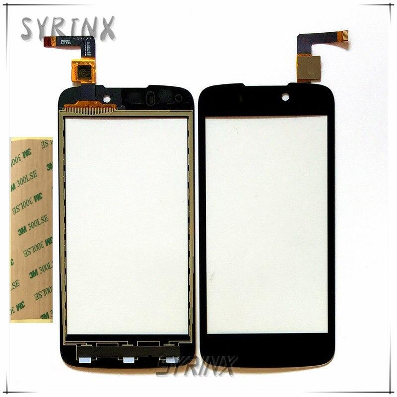 SYRINX + 3 M Bande Écran Tactile Digitizer Pour DNS S4508 4508 Tactile Panneau Avant Lentille En Verre Capteur Écran Tactile de Remplacement Touchpad