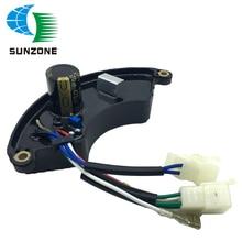 Универсальный 5KW 6.5KW 8KW AVR сети переменного тока три 3 фазы дизельный генератор стабилизатор 5.5KVA AVR 8 проводов