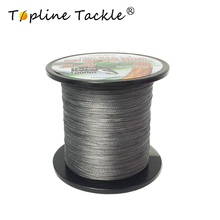 Topline Tackle1000M 4 strands Super Strong Japan Multifilament 100% PE braided fishing line4strands braided wires 10LB to 80lb
