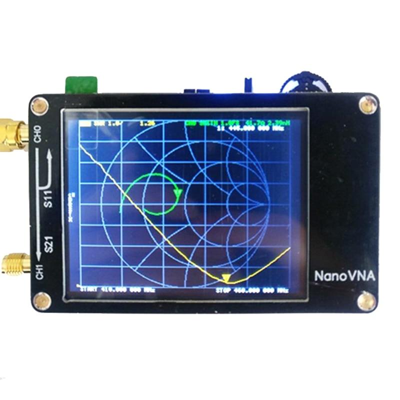 Newest Vector Networks Analyzer 50KHz-900MHz Antenna Standing Wave MF HF VHF 2.8 Inch Screen