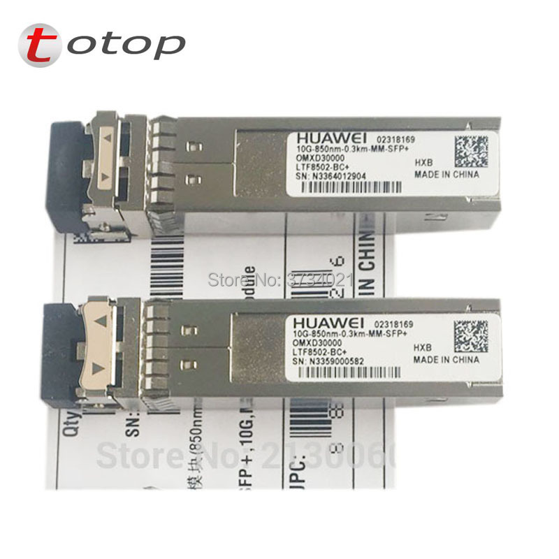 Huawei SFP Module Multi-mode10G-850NM-0.3KM-MM-SFP+ Fiber Optic Module 02318169
