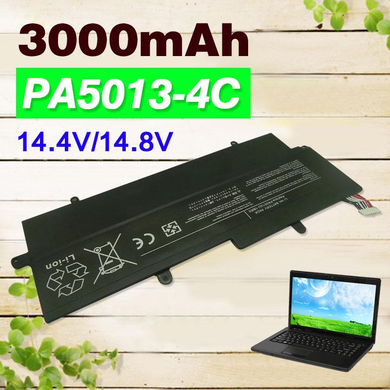 14.4 v 4 cellulaire 3000 mah PA5013U PA5013U-1BRS Batterie D'ordinateur Portable Pour Toshiba Portege Z930 Z935 Z835 Z830 Ultrabook Série