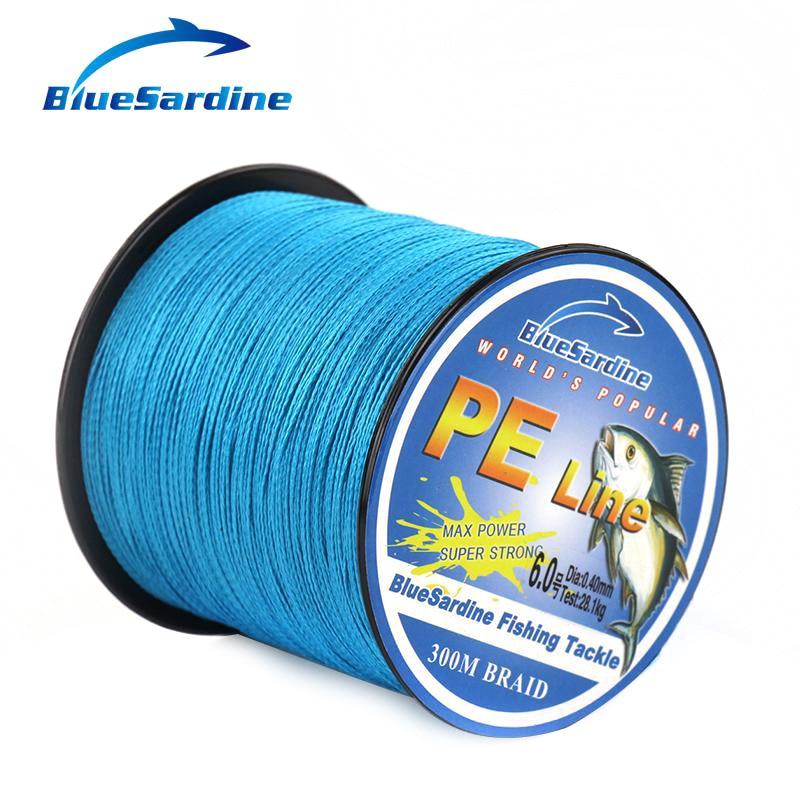 BlueSardine Mavi Balıqçılıq Xətti 300M Multifilament PE - Balıqçılıq - Fotoqrafiya 5