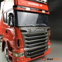 Scaleclub имитация металла Дворники для 1:14 скалолазания и 1:10 дрейфующих грузовиков Sca модель Tiangong трейлер