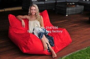 Mobili Da Giardino Colorati | Rosso Sedia Da Giardino Outdoor Sacchetto Di Fagioli Galleggiante Sede Del Sofà-a Prova Di Acqua E Resistente Di Colore