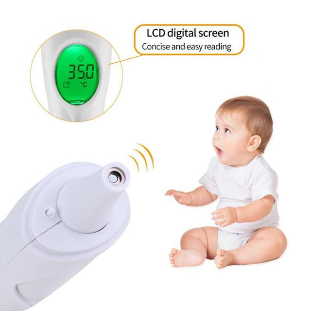 Muti-fuction Baby/Adult Digital Infrared Baby Thermometer Non-Contact Forehead Ear Temperature Measurement Diagnostic Tool New