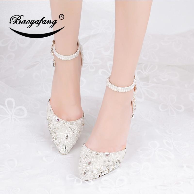 Sangle Pompes De Chaussures 8cm Mode Sandals Cristal 2019 Pour Talon 7 Fête Haute Cheville Mince Femme Nouveauté Tenue Mariage Femmes YxBaCAqx