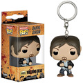 FUNKO Pocket POP Keychain Walking Dead Daryl Dixon Key Ring Mini Figure Model Keyring Toys gifts for kids