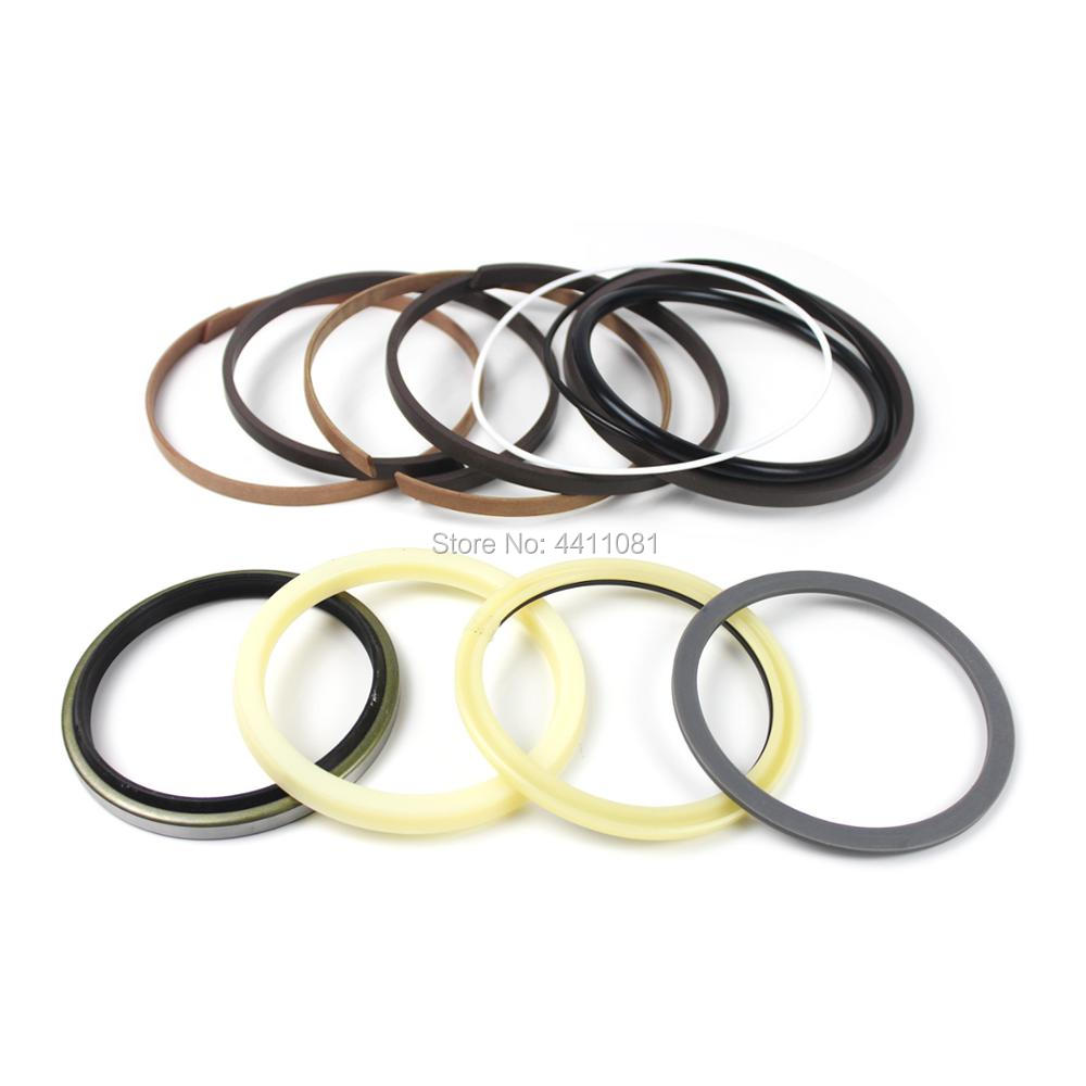 2 sets For Kobelco SK300-6E Boom Cylinder Repair Seal Kit Excavator Service Kit, 3 month warranty new rotation solenoid valve kwe5k 31 g24ya50 for excavator sk200 6e
