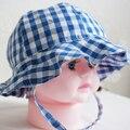 Новый 2016 мода солнца ребенка малыш для детей девочка Sunhat капот дети мальчик шапки роковой для малыша падение по магазинам chapeu infantil