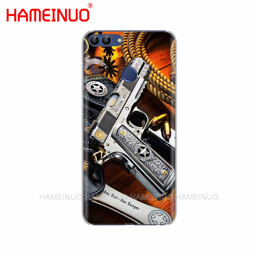 Half-wrapped Case Provided Nice Weapons Rifle Guns Sniper Pistol Bullet Cell Phone Cover Case For Huawei Honor 3c 4x 4c 5c 5x 6 7 Y3 Y6 Y5 2 Ii Y560 2017 Low Price