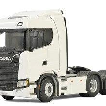 Коллекционная модель из сплава, подарок WSI 1:50 Scania нормальная CS20N 6x2 тег ось для трактора, прицепа, грузовика литая игрушка модель для украшения