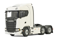 Collectible Alloy Model Gift WSI 1:50 Scania Normal CS20N 6x2 Tag axle Truck Tractor Trailer Diecast Toy Model For Decoration