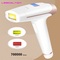 700000 times 3in1 lescolton depilador a laser IPL Epilator Hair Removal LCD Display Machine Laser Permanent Bikini Trimmer