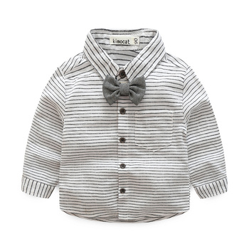 Baby Boy's Striped Clothing 2 pcs/Set 4