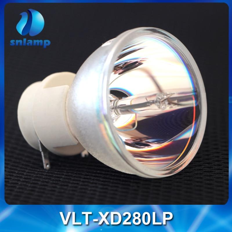 Original Projector Lamp Bulb VLT-XD280LP for XD250/XD250U/XD250ST/XD280/XD280U comforty xd f70