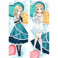 Japan Anime Hugging Body Pillow Case Pillow Cover BLACK BULLET Tina Sprout Anime Qhd007