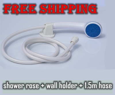 electric water heater rain shower head bathroom general abs plastic nozzle with 15m pvc shower