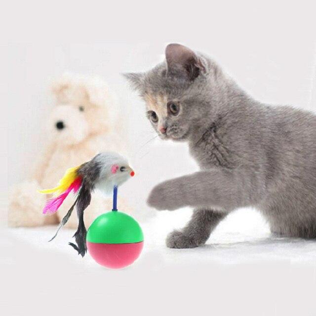 Haustier Katze Spielzeug Mimi Lieblings Maus Tumbler Kunststoff ...
