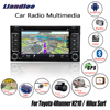 Liandlee For Toyota 4Runner N210 Hilux Surf 2002 2009 Android Car Radio CD DVD Player GPS