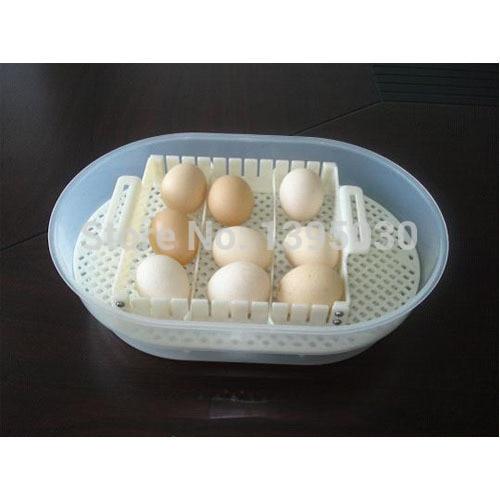 Mini Automatic Digital Egg Incubator JN12, Hatcher, Brooder, Setter цена и фото