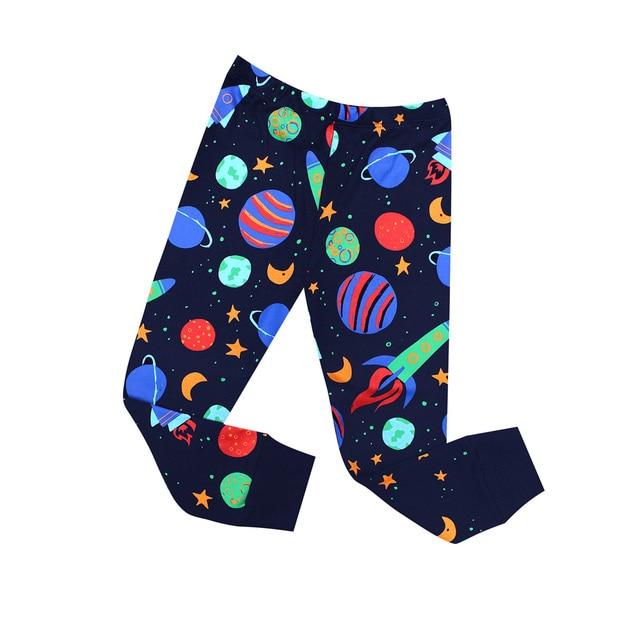 بيجامات للأطفال جديدة لعام 2019 ملابس نوم للأطفال بيجامات صاروخية للأطفال من سن 1 إلى 8 سنوات ملابس نوم شريطية للبنات بيجامات للأطفال 2