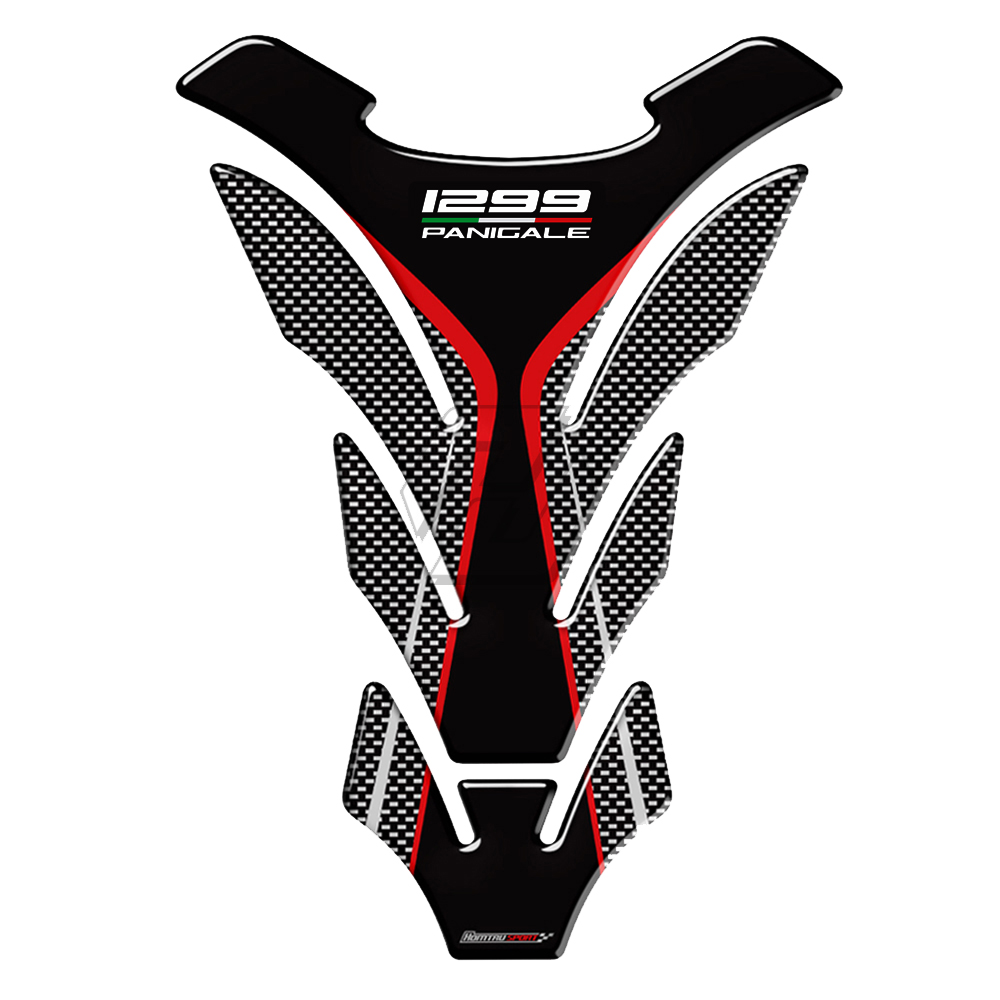 3D Motorcycle Tank Pad Protector Case For Ducati 1299 Panigale S R Final Edition Decals