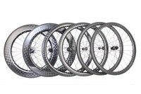 2018 Full Carbon Road Wheelset tubular clincher 40/50/56/86mm 18k Bicycle wheelset 27mm wide Carbon Road Bike Wheels