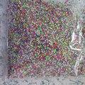 50000 pçs/saco OD-75-Mix 3D 1.5 mm Neon MiX Metal Stud prego brilhante decoração encantadora Outlooking