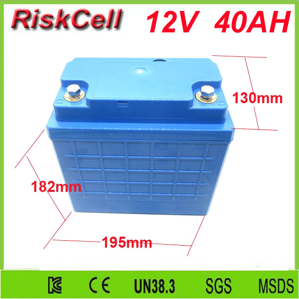 Free customs taxes and shipping  12v 40ah lithium ion battery 12v 40ah lifepo4  battery deep cycle batteries 12v 40ah free customs taxes 52v lithium ion battery 51 8v 40ah battery pack 52v lithium iron phosphate battery on sale for ups led