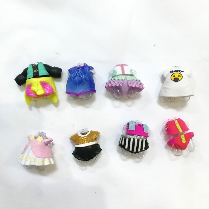 Plastic Doll Accessories Clothes Many Styles Used For dolls dress toy gift for girl clothes 1pcs