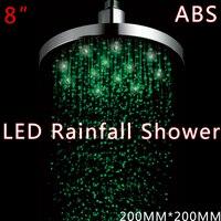 Wholesale LED Shower Bathroom Faucet Shower 3 Colors Temperature