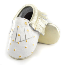 White Baby Boy Shoes Genuine leather Baby Moccasins shoes infant suede boots first walkers Newborn baby shoes