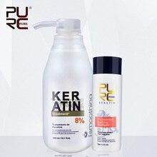 Формальдегида очищающий кератина кератин шампунь лечение бразильский мл волос и