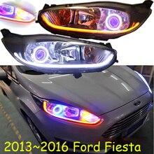 HID,2013 ~ 2016, estilo de coche para Faro de Fiesta, Transit,Explorer,Topaz,Edge,Taurus,Tempo,spectron,Falcon, lámpara de cabeza de Fiesta