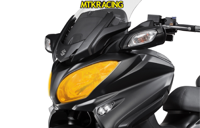 MTKRACING FOR Suzuki BURGMAN 650 BURGMAN-650 BURGMAN650 2017-2018 motorcycle Headlight Protector Cover Shield Screen Lens