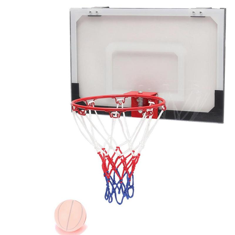 Indoor And Outdoor Basketball Frame Wall-mounted Basketball Frame Diameter 32CM Basketball Ring Equipped With Net Screw