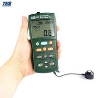 Солнечный Мощность метр тестер Datalogging W/USB кабель и программного обеспечения TES 132