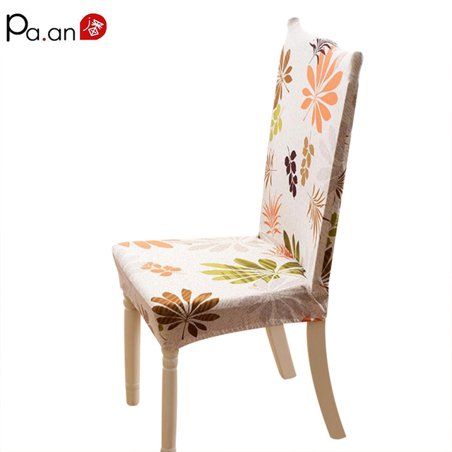 Merveilleux 1pcs New Chair Cover Spandex Thick Plush Printed Seat Covers For Home Hotel  Chairs Cushion Back