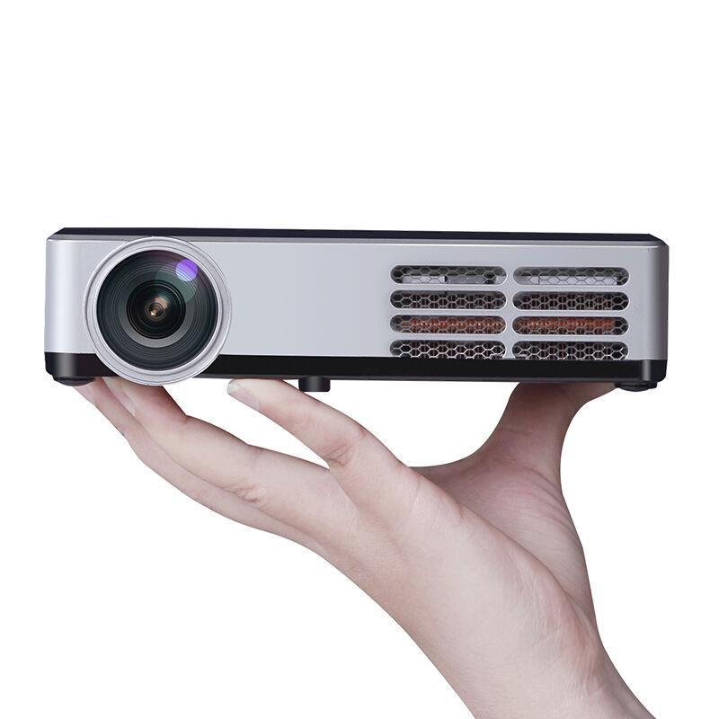 YOTEEN DLP600W Mini DLP Pico Projector WiFi 8G Support 1080P WiFi Bluetooth Active 3D FULL HD Projector Home Theater 1280*800