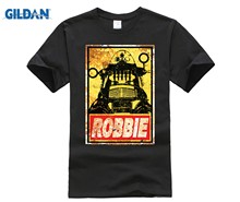GILDAN ROBBIE THE ROBOT T Shirt(China)