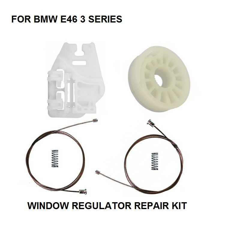 ELECTRIC WINDOW REGULATOR REPAIR KIT FOR BMW E46 WINDOW REGULATOR REPAIR KIT REAR-LEFT 1998-2013