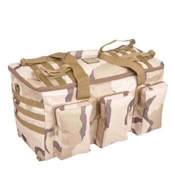 Camouflage Multifunctionele Bagage Tas Grote Capaciteit Tas Mannen Militaire Rugzak 55L Travel Rugzakken Outdoor Tassen