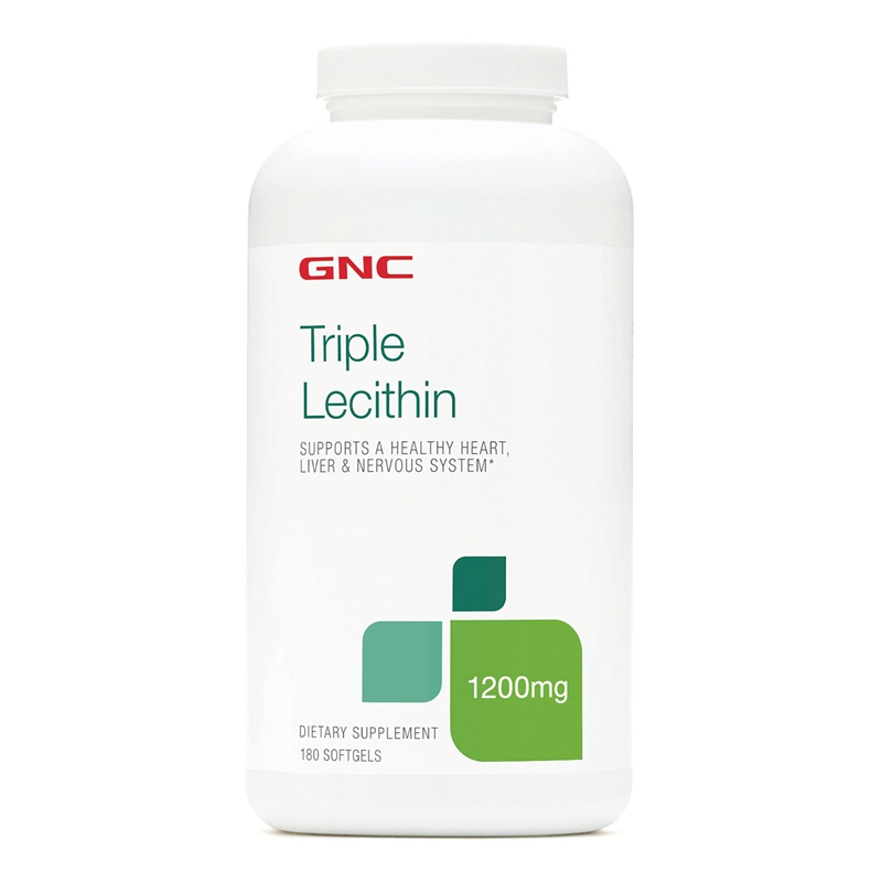 Free shipping triple lecithin 1200 mg 180 pcs